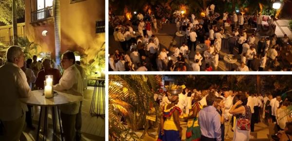 En imágenes: Canciller Carlos Holmes Trujillo saludó al cuerpo diplomático acreditado en Colombia, en Cartagena