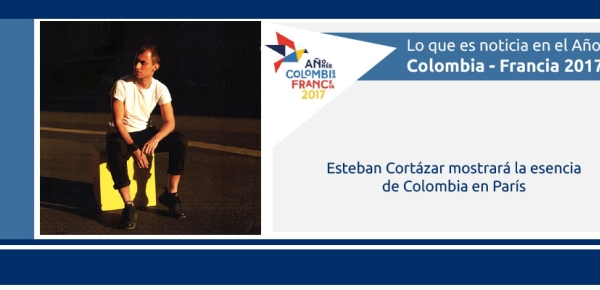 Esteban Cortázar mostrará la esencia de Colombia en París