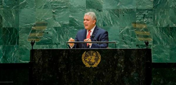 Ante la ONU, Presidente Duque urge acciones que fortalezcan financiamiento para la pandemia y el cambio