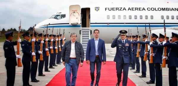 Con un mensaje de agradecimiento para el pueblo colombiano, el Presidente Iván Duque y a las Fuerzas Militares arribó a Catam el Presidente de Venezuela