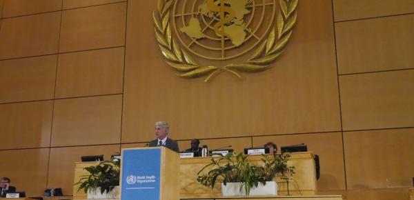 Delegación de Colombia participa en la 72° Asamblea Mundial de la Salud en Ginebra, Suiza