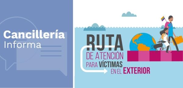 Orientaciones para los colombianos víctimas frente a la Ley 1448 de 2011 y su implementación en el exterior