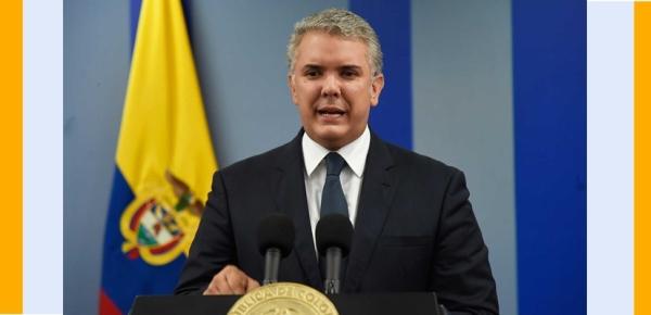 A través de la Organización Mundial de Salud, compartiremos información para ayudar a hermanos venezolanos frente al coronavirus en la zona de frontera, afirma el Presidente Duque