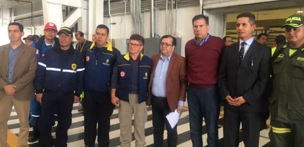Llegó a México asistencia humanitaria enviada por Colombia