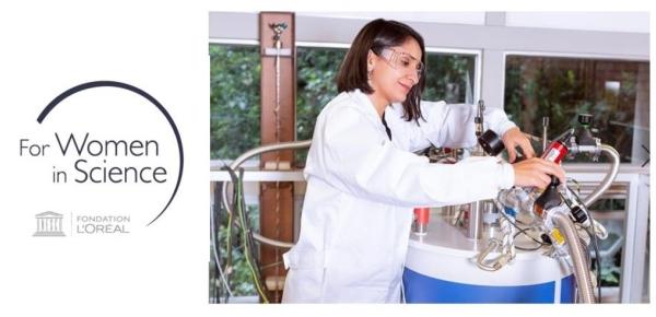 Abierta la convocatoria 2020 de las Becas L'Oreal – UNESCO Programa 'Para las Mujeres en la Ciencia'