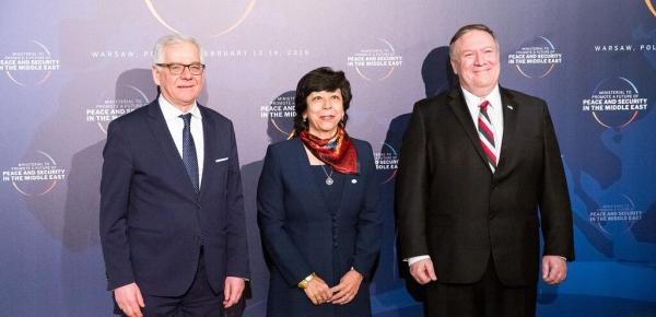 Conferencia sobre Medio Oriente en Varsovia inició con una cena de gala, a la que asistió la Viceministra de Relaciones Exteriores