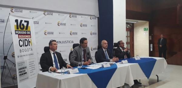 Bogotá será sede del Período de Sesiones de la Comisión Interamericana de Derechos Humanos