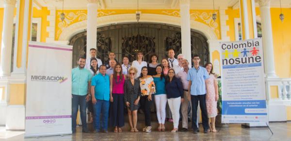 Programa Colombia Nos Une de la Cancillería certificó como emprendedores a cinco colombianos que retornaron del exterior al departamento de Bolívar