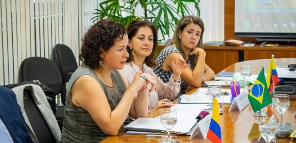 Colombia y Brasil trabajan juntos nuevo programa de cooperación por el medio ambiente, la gestión del riesgo y la salud
