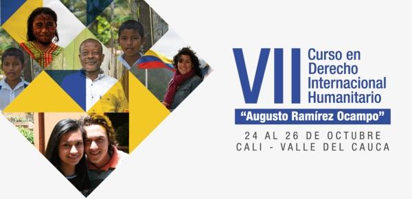Convocatoria al VII Curso de Derecho Internacional Humanitario 'Augusto Ramírez Ocampo'