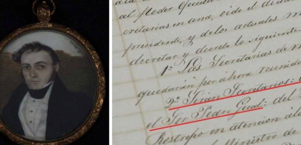 Este 17 de enero se cumplen 235 años del natalicio del primer Canciller de Colombia. En los archivos del Ministerio de Relaciones Exteriores está parte de su historia