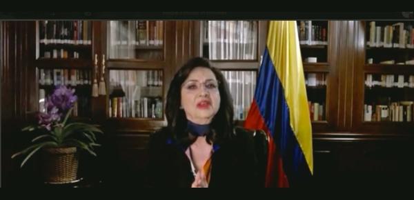 Canciller Claudia Blum lideró reunión sobre derechos humanos con embajadores de UE