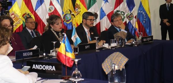 Intervención del Canciller Carlos Holmes Trujillo en la Reunión de Ministros de Relaciones Exteriores de Iberoamérica