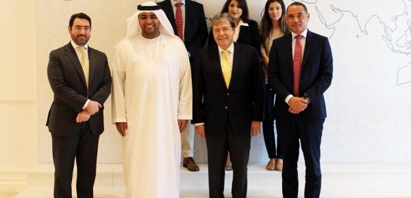 Canciller Trujillo visitó en Dubái, institución reconocida por su experiencia en el diálogo para contrarrestar el extremismo violento en el mundo