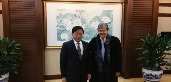 Ministro de Relaciones Exteriores expresó interés de trabajar conjuntamente con China en la identificación de oportunidades comerciales para nuevos productos agrícolas
