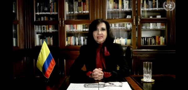 """""""Las víctimas están en el centro de todos nuestros esfuerzos"""", Canciller Claudia Blum ante el Consejo de Seguridad de las Naciones Unidas"""