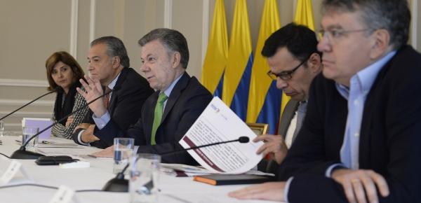 La Canciller Holguín participó en el Gabinete de Posconflicto que realizó seguimiento a los programas y proyectos de la implementación de la paz