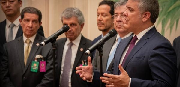 Canciller Holmes Trujillo explicó el Tratado sobre el traslado de personas condenadas