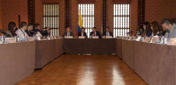 Cancillería avanzó en estructuración del plan para atender la situación fronteriza con Panamá, en la Comisión Intersectorial de Lucha contra el Tráfico de Migrantes