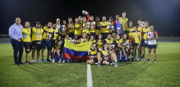 La Cancillería celebra medalla de oro doble en rugby, obtenida por Colombia en los Juegos Centroamericanos y del Caribe, por equipos en los que participan jóvenes de la iniciativa Diplomacia Deportiva y Cultural