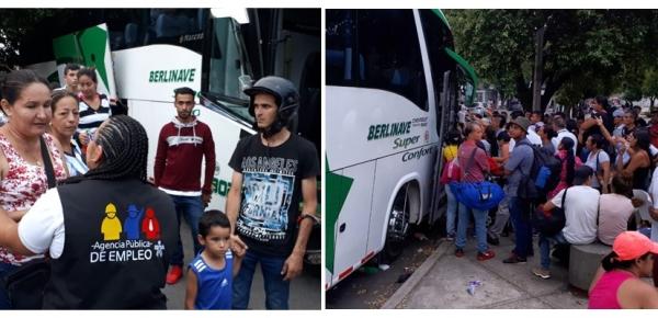 Cancillería lidera nueva incorporación de colombianos retornados desde Venezuela para trabajar en cultivos de flores en la Sabana