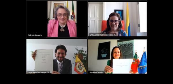 El Ministerio de Ambiente y Acción Climática de Portugal y la Corporación Colombiana de Investigación Agropecuaria (Agrosavia) firman protocolo de cooperación
