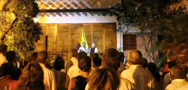 En Cartagena y en el marco del saludo al cuerpo diplomático, Canciller Carlos Holmes Trujillo ratificó iniciativa para la creación de Corte Internacional contra la Corrupción