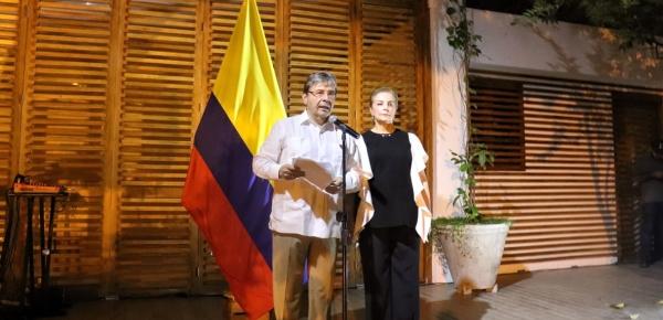 Frente a Venezuela no podemos ser indiferentes ni cómplices, destacó el Canciller Carlos Holmes Trujillo en su saludo al Cuerpo Diplomático acreditado en Colombia