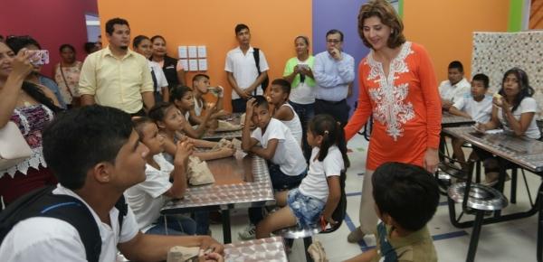 Más de 400 menores de Colombia, Perú y Brasil se benefician con la puesta en marcha de la Casa Lúdica construida por la Cancillería en Leticia, Amazonas