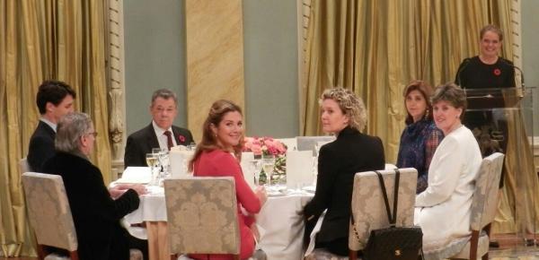 Canciller Holguín asistió a la cena de Estado en honor al Presidente Santos