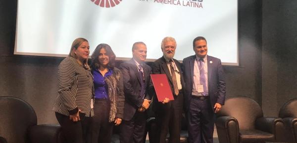 Embajada en Italia participó en el Fórum Ítalo – Latinoamericano sobre las pymes en Cesena donde se firmó convenio que favorecerá a la economía naranja con agricultura y turismo sostenible en Colombia