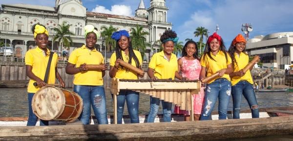 Jóvenes músicos de Batuta y Fundación Rancho Aparte de Quibdó viajarán a Salvador de Bahía, centro cultural de Brasil