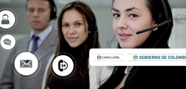 En Semana Santa, el Centro Integral de Atención al Ciudadano de la Cancillería está disponible 24 horas al día para los ciudadanos