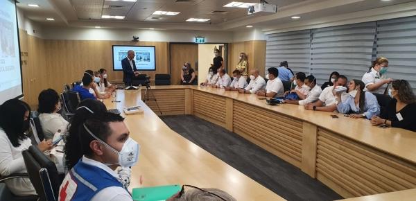 23 profesionales, líderes y administradores del sector salud de Colombia concluyen con éxito taller sobre respuesta sanitaria al COVID-19 en Israel