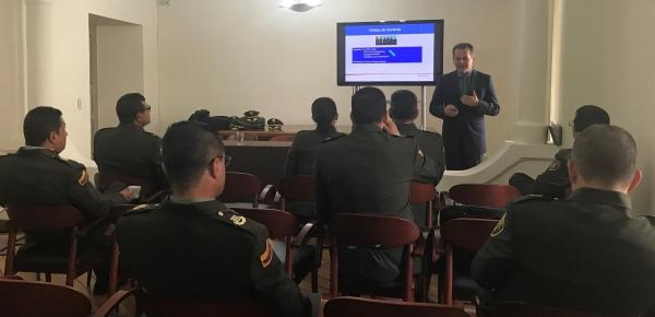 Comenzó el curso para agregados de Policía 2020 en la Academia Diplomática Augusto Ramírez Ocampo