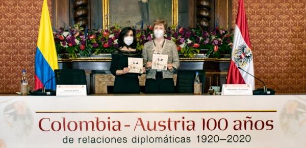Colombia y Austria conmemoraron 100 años de relaciones diplomáticas