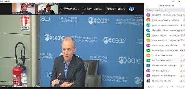 Colombia asiste a la 45ta Sesión del Grupo de Trabajo de la OCDE