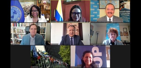 Colombia como PPT de PROSUR, participó en la sesión del Grupo Asesor Principal de la Organización Panamericana
