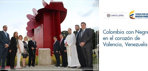 Colombia con Negret en el corazón de Valencia