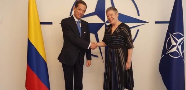 Colombia debuta ante el Consejo del Atlántico Norte