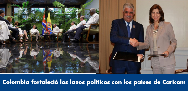 Colombia fortaleció los lazos políticos con los países de Caricom en 2017