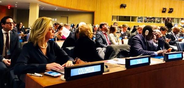 Colombia fue reelegido en la Mesa de la Asamblea de Estados Parte de la Corte Penal Internacional en 2017