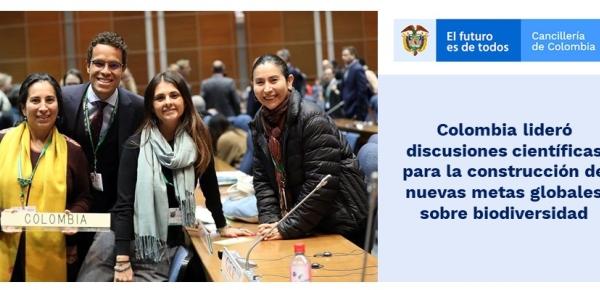 Colombia lideró discusiones científicas para la construcción de metas globales sobre biodiversidad