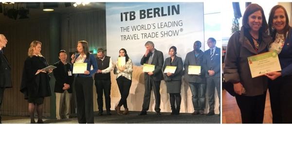 Colombia obtiene premio 'Destino Sostenible' en la Feria de Turismo anual ITB,
