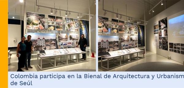 Colombia participa en la Bienal de Arquitectura y Urbanismo de Seúl en septiembre