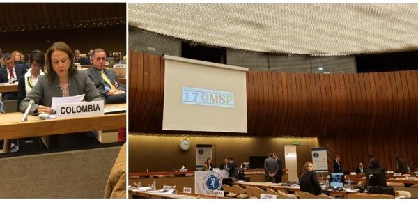 Colombia participa en la XVII Reunión de los Estados Parte de la Convención sobre Prohibición de Minas