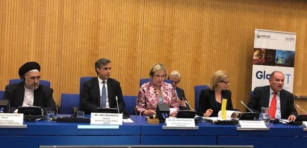 """Colombia participó en """"Cooperación entre la Unión Europea y la Oficina de las Naciones Unidas contra la Droga y el Delito: Previniendo y abordando la trata de personas y el tráfico de migrantes"""""""