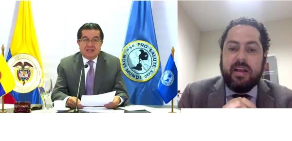 Colombia participó en la 58ª sesión del Consejo Directivo la Organización Panamericana de la Salud