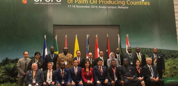 Colombia participó en la Reunión Ministerial de Países Productores de Aceite de Palma