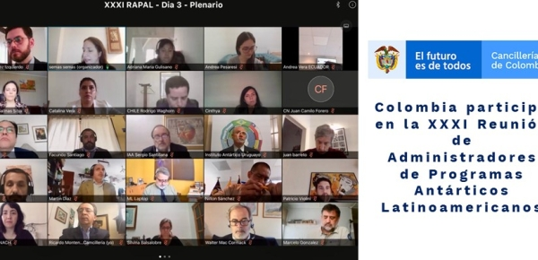 Colombia participó en la XXXI Reunión de Administradores de Programas Antárticos